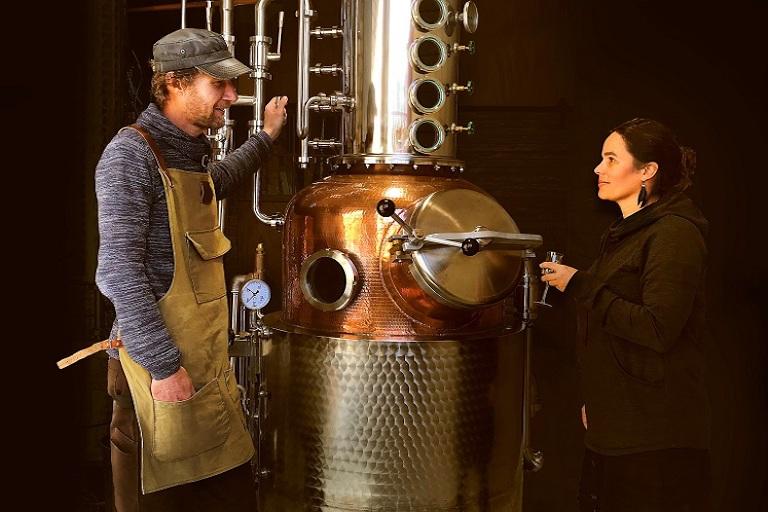 Coromandel Distilling Co - Daniela Suess and Paul Schneider