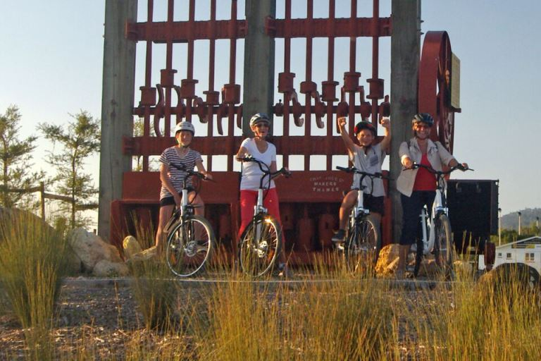 Hauraki Rail Trail: Jollybikes