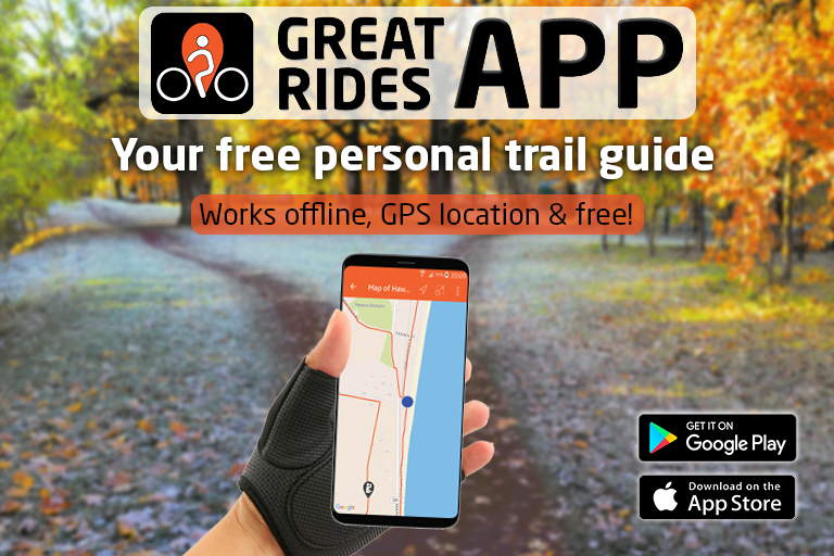Hauraki Rail Trail: Great Rides App