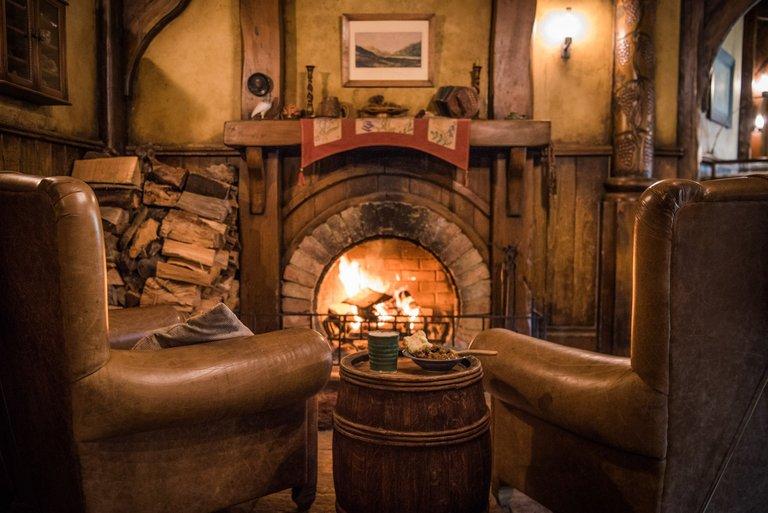 Hobbiton Movie Set Green Dragon Inn
