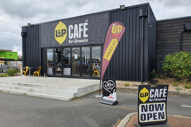 L&P Cafe, Bar and Brasserie
