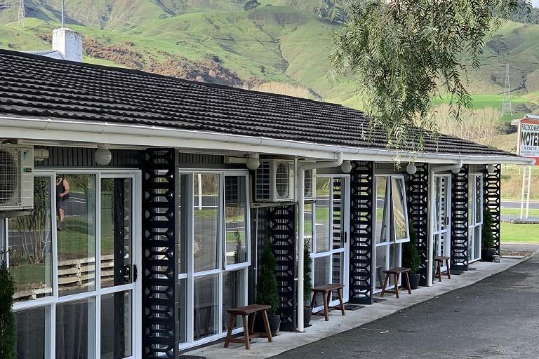 Racecourse Motel: Hauraki Rail Trail