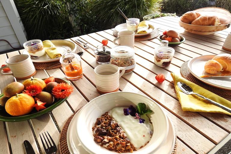 Sunrise BnB Breakfast