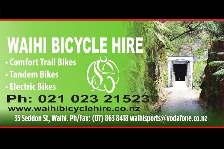Waihi Bike Hire