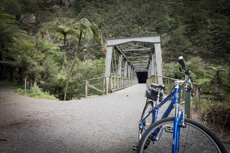 Waihi Bicycle Hire: Hauraki Rail Trail