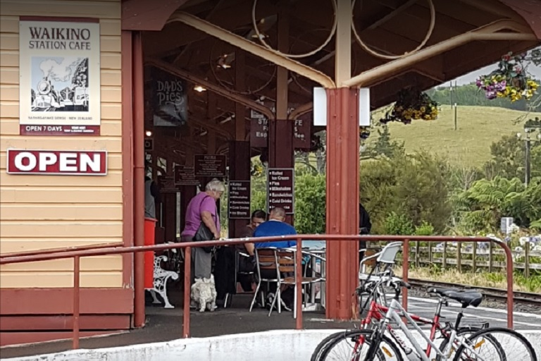 Waikino Station Cafe: Hauraki Rail Trail